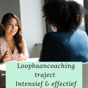 Loopbaancoachingstraject intensief en effectief