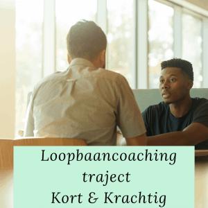 Loopbaancoachingstraject kort en krachtig