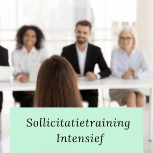 sollicitatietraining intensief