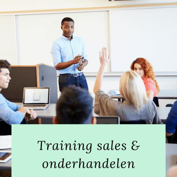 training sales en onderhandelen