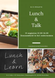 Lunch & Talk eenzaamheid in het ondernemen